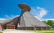 Church Precieux-Sang by archiect Etienne Gaboury. Saint Boniface<br /> Winnipeg<br /> Manitoba<br /> Canada