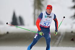 PONOMAREV Oleg Guide: ROMANOV Andrei, Biathlon at the 2014 Sochi Winter Paralympic Games, Russia