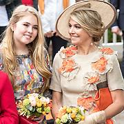 NLD/Amersfoort/20190427 - Koningsdag Amersfoort 2019, Koningin Maxima en Prinses Amalia, Alexia