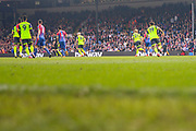 Action from the game during the Premier League match between Crystal Palace and Huddersfield Town at Selhurst Park, London, England on 30 March 2019.