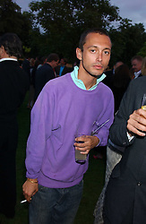 VISCOUNT MACMILLAN at the annual Serpentine Gallery Summer Party co-hosted by Jimmy Choo shoes held at the Serpentine Gallery, Kensington Gardens, London on 30th June 2005.<br />