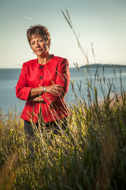 Sophie Minich, President and CEO of Cook Inlet Native Corporation, Anchorage