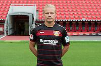 German Bundesliga - Season 2016/17 - Photocall Bayer 04 Leverkusen on 25 July 2016 in Leverkusen, Germany: Joel Pohjanpalo. Photo: Guido Kirchner/dpa | usage worldwide