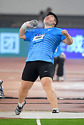 Lijiao Gong (CHN) wins the women's shot put at 65-7 (19.99m) during the IAAF Diamond League Shanghai 2018 in Shanghai, China, Saturday, May 12, 2018. (Jiro Mochizukii/Image of Sport)