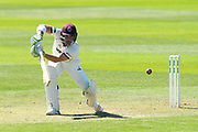 Dean Elgar of Somerset during the Specsavers County Champ Div 1 match between Somerset County Cricket Club and Hampshire County Cricket Club at the Cooper Associates County Ground, Taunton, United Kingdom on 26 May 2017. Photo by Graham Hunt.
