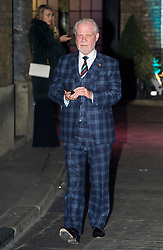 © Licensed to London News Pictures. 08/02/2016. London, UK. DAVID GOLD leaves The Brewery in London after the annual Conservative Party Black & White Ball, a Conservative Party fundraiser.  Photo credit: Ben Cawthra/LNP