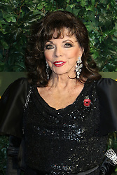© Licensed to London News Pictures. 13/11/2016. London, UK, Joan Collins, Evening Standard Theatre Awards, Photo credit: Richard Goldschmidt/LNP
