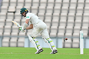 Daryl Mitchell of Worcestershire batting during the Specsavers County Champ Div 1 match between Hampshire County Cricket Club and Worcestershire County Cricket Club at the Ageas Bowl, Southampton, United Kingdom on 13 April 2018. Picture by Graham Hunt.