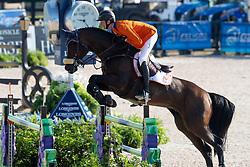 Schuttert Frank, NED, Chianti s Champion<br /> Tryon - FEI World Equestrian Games™ 2018<br /> Springen Zeitspringprüfung Teamwertung Einzelwertung 1 Runde<br /> 19. September 2018<br /> © www.sportfotos-lafrentz.de/Dirk Caremans