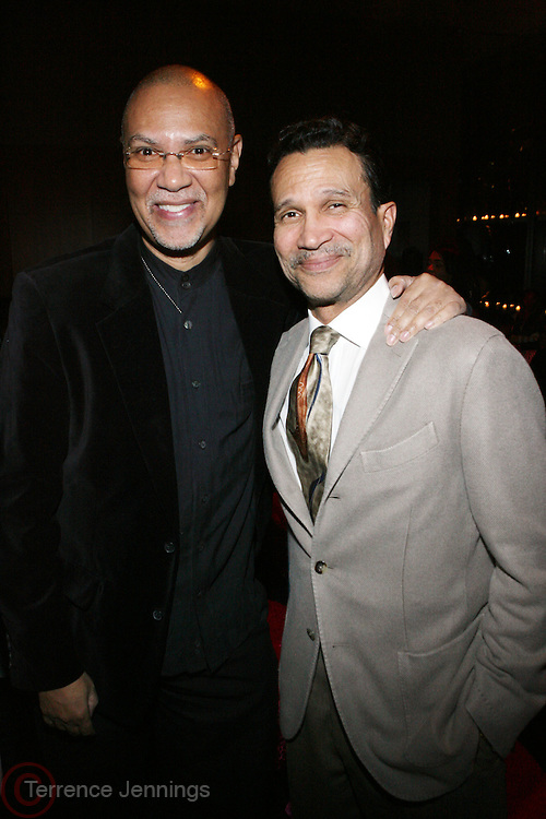 l to r: Warrington Hudlin and Khephra Burns at The 3rd Annual Black Girls Rock Awards held at the Rose Building at Lincoln Center in New York City on November 2, 2008..BLACK GIRLS ROCK! Inc. is a 501 (c)(3) nonprofit, youth empowerment mentoring organization established for young women of color.  Proceeds from ticket sales will benefit BLACK GIRLS ROCK! Inc.?s mission to empower young women of color via the arts.  All contributions are tax deductible to the extent allowed by