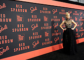 02/26/2018 Red Sparrow Premiere co-hosted by Stoli Vodka