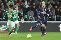 Fabien LEMOINE - 25.01.2015 - Saint Etienne / PSG - 22eme journee de Ligue1<br /> Photo : Jean Paul Thomas / Icon Sport