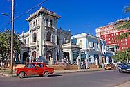 Street in Havana Vedado, Cuba.