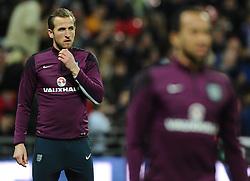 Harry Kane of England (Tottenham Hotspur) behind Andros Townsend of England (Tottenham Hotspur)  - Photo mandatory by-line: Joe Meredith/JMP - Mobile: 07966 386802 - 27/03/2015 - SPORT - Football - London - Wembley Stadium - England v Lithuania - UEFA EURO 2016 Qualifier
