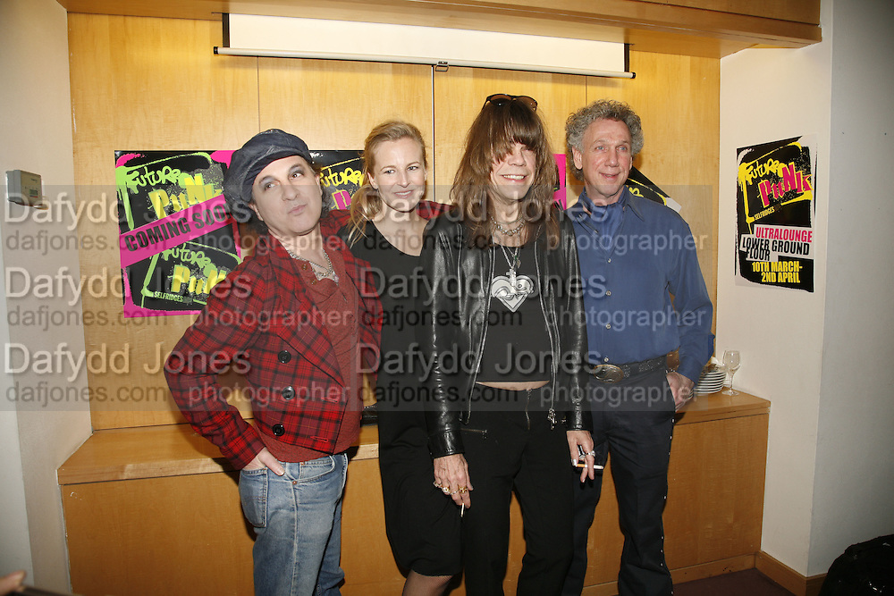 Sylvain Sylvain,Alannah Weston, David Johansen and Bob Gruen, Future Punk Launch party at Selfridges, Oxford St. : 9th March. ONE TIME USE ONLY - DO NOT ARCHIVE  © Copyright Photograph by Dafydd Jones 66 Stockwell Park Rd. London SW9 0DA Tel 020 7733 0108 www.dafjones.com