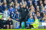 Brighton & Hove Albion Head Coach Graham Potter during the The FA Cup match between Brighton and Hove Albion and Sheffield Wednesday at the American Express Community Stadium, Brighton and Hove, England on 4 January 2020.