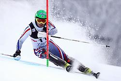 06.01.2015, Sljeme, Zagreb, CRO, FIS Weltcup Ski Alpin, Zagreb, Herren, Slalom, 1. Lauf, im Bild Alexander Khoroshilov (RUS) // Alexander Khoroshilov of Russia  in action during 1st run of men's Slalom of FIS Ski Alpine Worldcup at the Sljeme in Zagreb, Croatia on 2015/01/06. EXPA Pictures © 2015, PhotoCredit: EXPA/ Pixsell/ Goran Stanzl<br /> <br /> *****ATTENTION - for AUT, SLO, SUI, SWE, ITA, FRA only*****