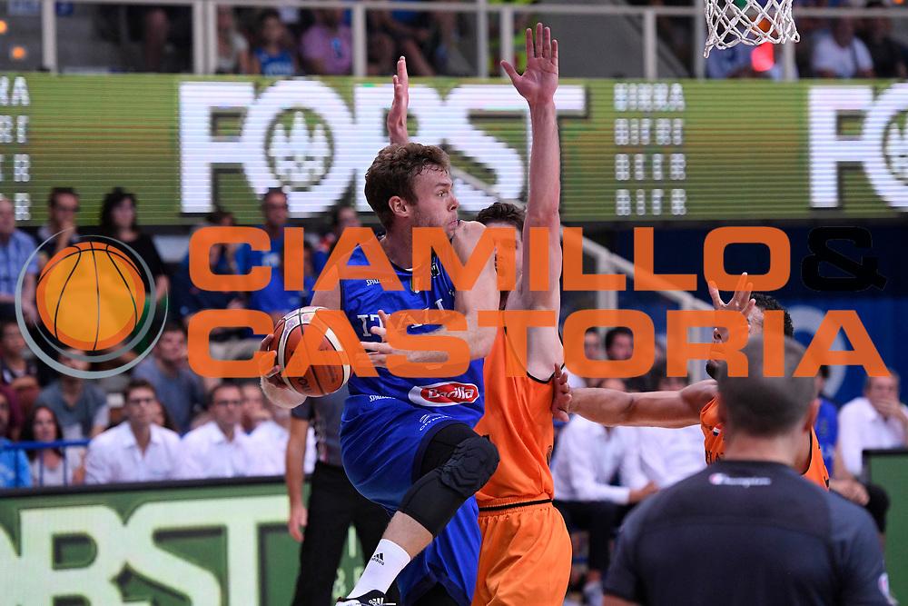 Nicol&ograve; Melli<br /> Nazionale Italiana Maschile Senior - Trentino Basket Cup 2017<br /> Italia - Paesi Bassi / Italy - Netherlands<br /> FIP 2017<br /> Trento, 30/07/2017<br /> Foto Agenzia Ciamillo-Castoria