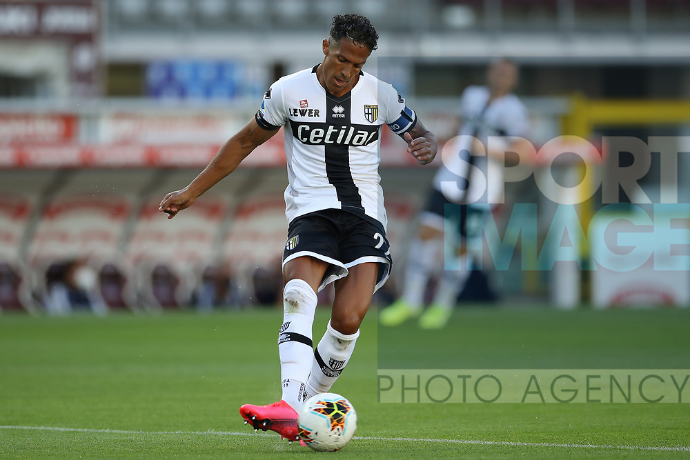 Parma Calcio's Portugese defender Bruno Alves during the Serie A match at Stadio Grande Torino, Turin. Picture date: 20th June 2020. Picture credit should read: Jonathan Moscrop/Sportimage