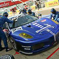 #98 Ferrari F430 GT2 Silverstone LMS 1000km September 2008