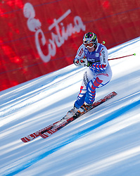 13.01.2012, Pista Olympia delle Tofane, Cortina, ITA, FIS Weltcup Ski Alpin, Damen, Abfahrt, 2. Training, im Bild Marion Rolland (FRA) // Marion Rolland of France during ladies downhill 2nd training of FIS Ski Alpine World Cup at 'Pista Olympia delle Tofane' course in Cortina, Italy on 2012/01/13. EXPA Pictures © 2012, PhotoCredit: EXPA/ Johann Groder