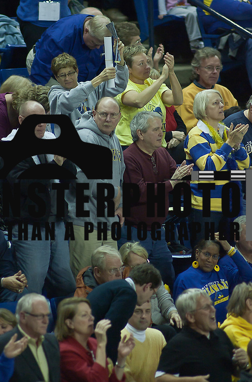 11/17/11 Newark DE: Delaware fans enjoying the defeat of The Lady Nittany Lions of Penn State 80-71, behind Elena Delle Donne 40 point scoring effort...Special to The News Journal/SAQUAN STIMPSON