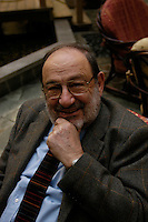 Umberto Eco photographed on March the 8th 2007 in Beijing.
