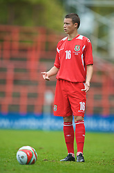 WREXHAM, WALES - Saturday, October 10, 2009: Wales' Billy Bodin during the UEFA Under-21 Championship Qualifying Round Group 3 match against Bosnia-Herzegovina at the Racecourse Ground. (Pic by Chris Brunskill/Propaganda)