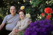 Pherin Pharmaceutical in Mountain View, California. Dr. David Berliner at home with his wife Martha (also an medical doctor). MODEL RELEASED (2002)
