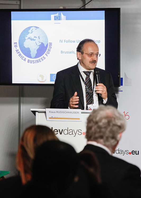 20160615 - Brussels , Belgium - 2016 June 15th - European Development Days - Sustainable energy enterprises and the role of public-private partnerships - EABF Workshop - Klaus Rudischhauser , Deputy Director General , European Commission - DG for International Cooperation and Development © European Union