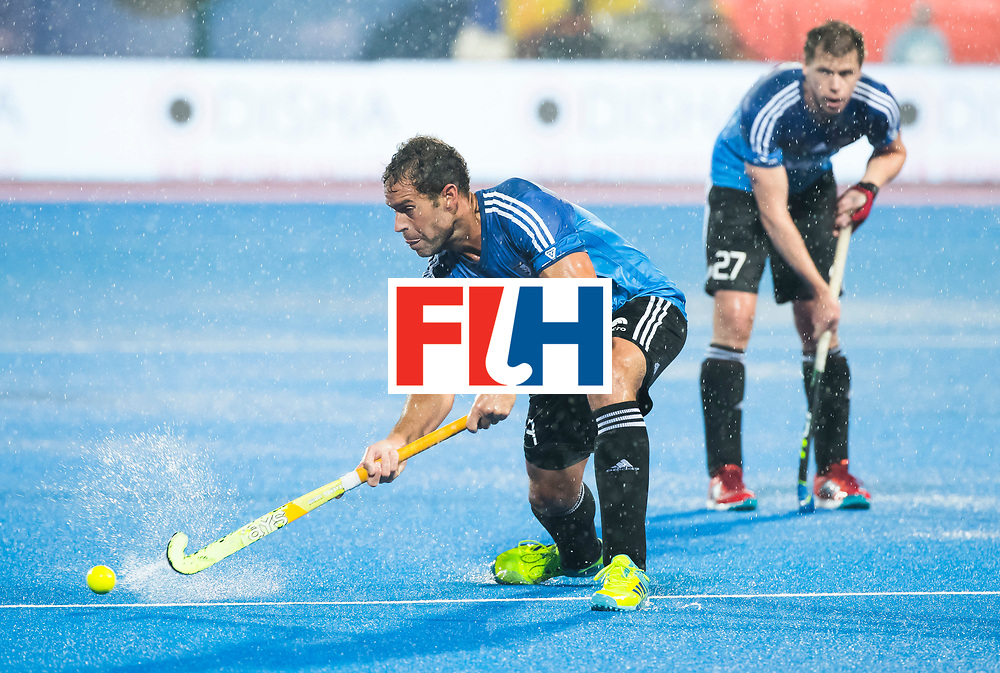 BHUBANESWAR -  Hockey World League finals , Semi Final . Argentina v India. Maico Casella (Arg) COPYRIGHT KOEN SUYK