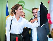 Queen Rania Visits IKEA Jordan