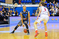 Malcom Gountas / Nicolas Lang - 14.03.2015 - Paris Levallois / Rouen - 22eme journee de Pro A<br /> Photo : Anthony Dibon / Icon Sport