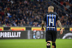 November 3, 2018 - Milan, Milan, Italy - Radja Nainggolan #14 of FC Internazionale Milano during the serie A match between FC Internazionale and Genoa CFC at Stadio Giuseppe Meazza on November 03, 2018 in Milan, Italy. (Credit Image: © Giuseppe Cottini/NurPhoto via ZUMA Press)