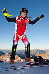 22.09.2010, Mölltaler Gletscher, Flattach, AUT, OeSV Training Moelltaler Gletscher, im Bild Reinfried Herbst. EXPA Pictures © 2010, PhotoCredit: EXPA/ J. Groder