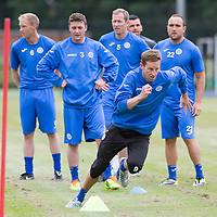 St Johnstone Pre-Season Training...07.07.14<br /> Steven MacLean during a running exercise<br /> Picture by Graeme Hart.<br /> Copyright Perthshire Picture Agency<br /> Tel: 01738 623350  Mobile: 07990 594431