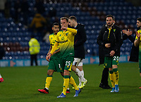Football - 2019 / 2020 Emirates FA Cup - Fourth Round: Burnley vs. Norwich City<br /> <br /> Ondrej Duda of Norwich City applauds the travelling Norwich City the Norwich City fans at the end of the game, at Turf Moor.<br /> <br /> COLORSPORT/ALAN MARTIN