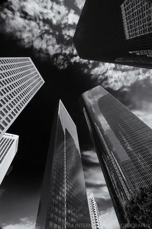 Skyscrapers of LA's Financial District