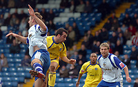 Photo: Paul Greenwood.<br />Bury FC v Wycombe Wanderers. Coca Cola League 2. 17/02/2007. Wycombe's Scott McGleish, second left, beats the Bury defence to score the second goal