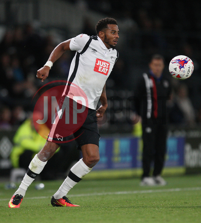 Cyrus Christie of Derby County - Mandatory by-line: Jack Phillips/JMP - 09/08/2016 - FOOTBALL - iPro Stadium - Derby, England - Derby County v Grimsby Town - EFL Cup First Round