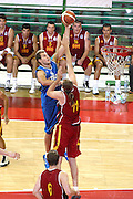 DESCRIZIONE : Firenze I&deg; Torneo Nelson Mandela Forum Italia Macedonia<br /> GIOCATORE : Stefano Mancinelli<br /> SQUADRA : Nazionale Italiana Uomini <br /> EVENTO : I&deg; Torneo Nelson Mandela Forum Italia Macedonia<br /> GARA : Italia Macedonia<br /> DATA : 16/07/2010 <br /> CATEGORIA : tiro penetrazione<br /> SPORT : Pallacanestro <br /> AUTORE : Agenzia Ciamillo-Castoria/GiulioCiamillo<br /> Galleria : Fip Nazionali 2010