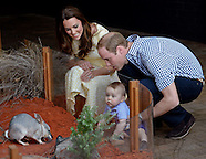 Prince George & Parents Visits Taronga Zoo, Sydney