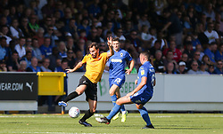 Edward Upson of Bristol Rovers on the ball - Mandatory by-line: Arron Gent/JMP - 21/09/2019 - FOOTBALL - Cherry Red Records Stadium - Kingston upon Thames, England - AFC Wimbledon v Bristol Rovers - Sky Bet League One