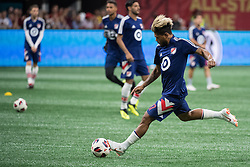 August 1, 2018 - Atlanta, Georgia, United States - MLS All-Star forward JOSEF MARTÍNEZ, 17, (Atlanta United) warms up before the 2018 MLS All-Star Game at Mercedes-Benz Stadium in Atlanta, Georgia.  Juventus F.C. defeats  MLS All-Stars defeat  1 to 1  (Credit Image: © Mark Smith via ZUMA Wire)