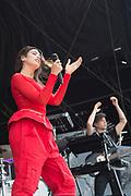 English singer-songwrtiter Dua Lipa kicks off the 2017 Music Midtown music festival Saturday in Piedmont Park.