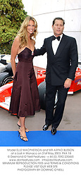 Model ELLE MACPHERSON and MR ARPAD BUSSON at a ball in Monaco on 31st May 2003.PKA 18