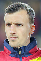 CLUJ-NAPOCA, ROMANIA, MARCH 26: Romania's national soccer player Vlad Chiriches pictured before the 2018 FIFA World Cup qualifier soccer game between Romania and Denmark, on March 26, at Cluj Arena Stadium, in Cluj-Napoca, Romania. (Photo by Mircea Rosca/Getty Images)