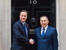 2015-11-03 Cameron welcomes Kazakhstan President Nursultan Nazarbayev to Downing Street