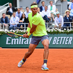 Rafael Nadal (SPA) during the men Final of Roland Garros on June 9, 2019 in Paris, France. (Photo by Anthony Dibon/Icon Sport)