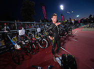 General Event Coverage, March 22, 2015 - TRIATHLON : Ironman Melbourne Asia Pacific Chamionships, Frankston to St Kinda, Melbourne, Victoria, Australia. Credit: Lucas Wroe